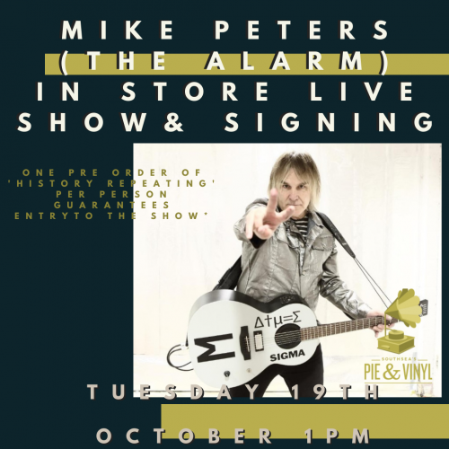 mike peters promo